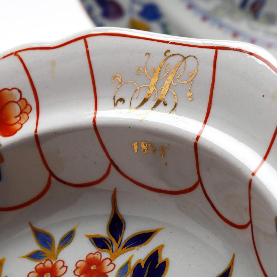 A Collection of Antique Soup Bowls - 8
