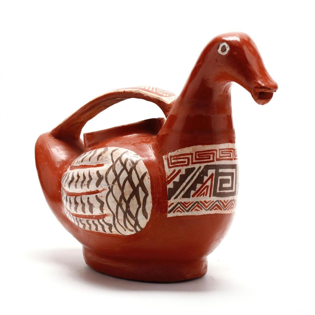 Mexican Pottery Bird Pitcher