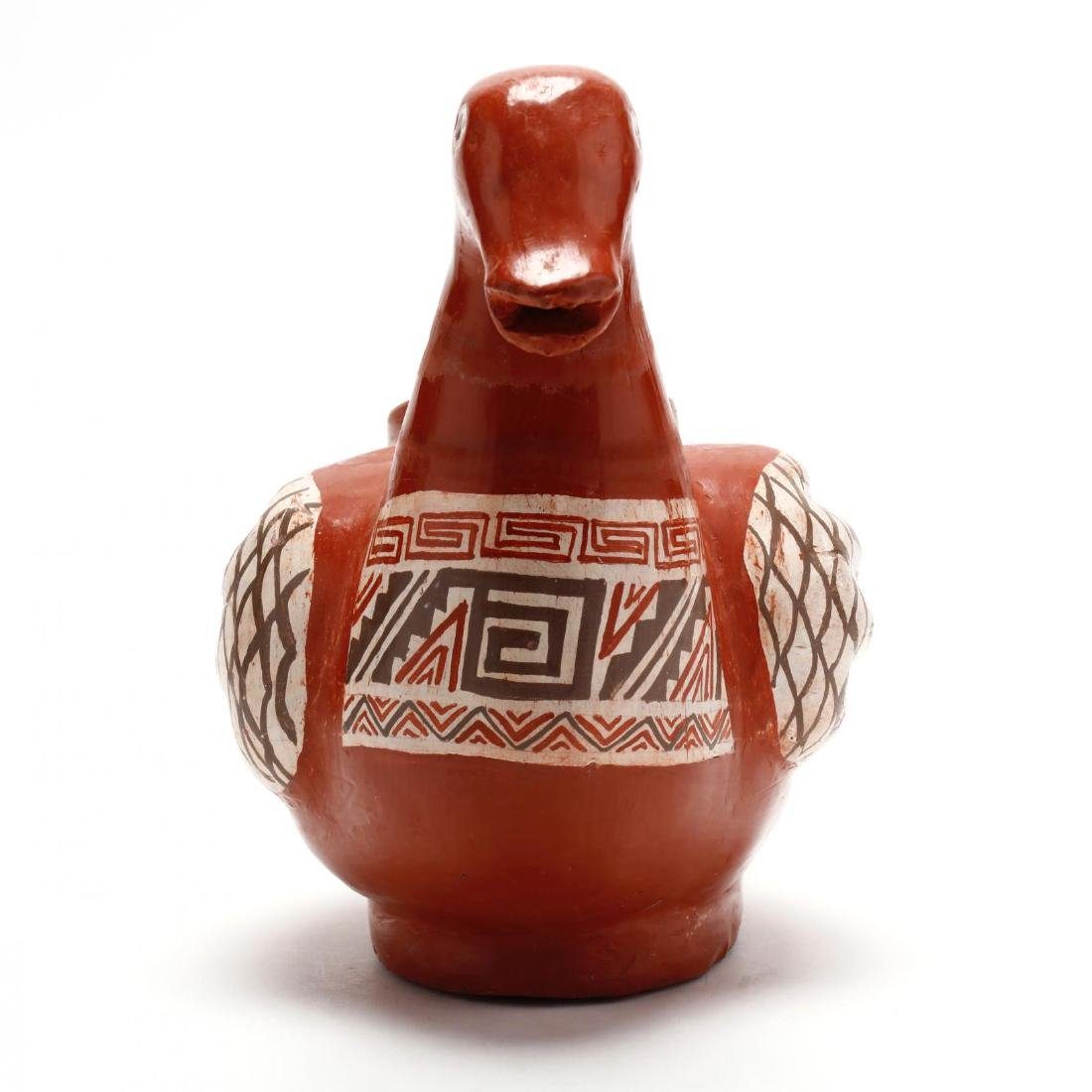 Mexican Pottery Bird Pitcher - 2