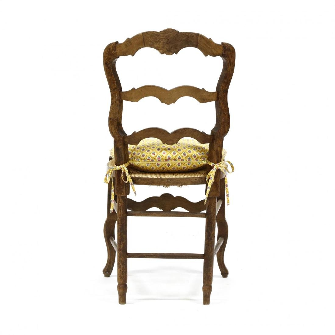 Set of Six French Provincial Style Dining Chairs - 5
