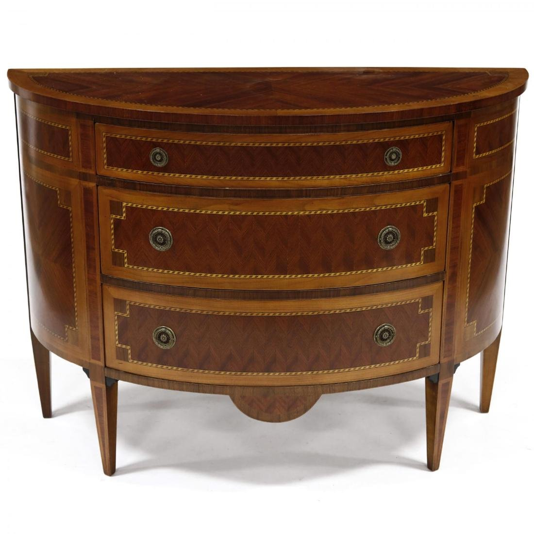 Italian Inlaid Mahogany Commode - 2