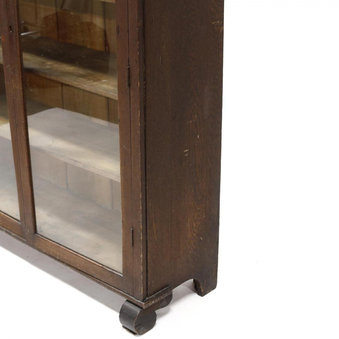 Larkin Soap Co. Oak Display Cabinet - 3