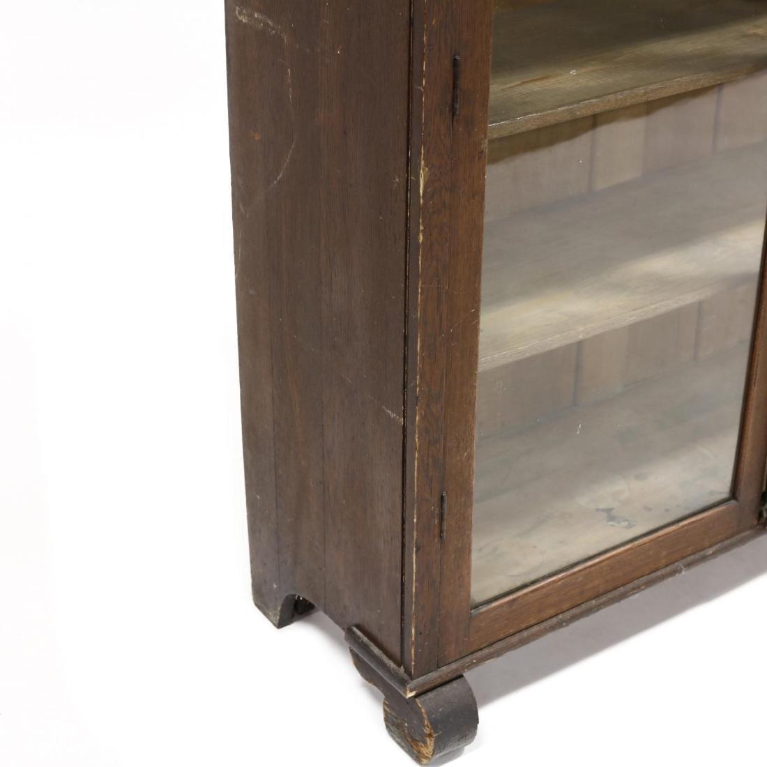 Larkin Soap Co. Oak Display Cabinet - 4