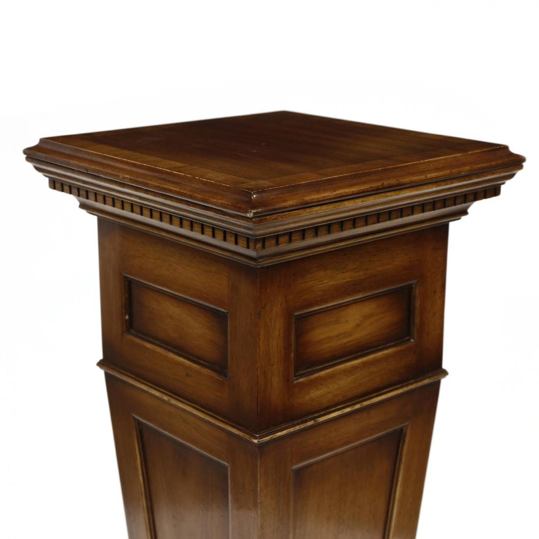 Georgian Style Mahogany Pedestal - 2