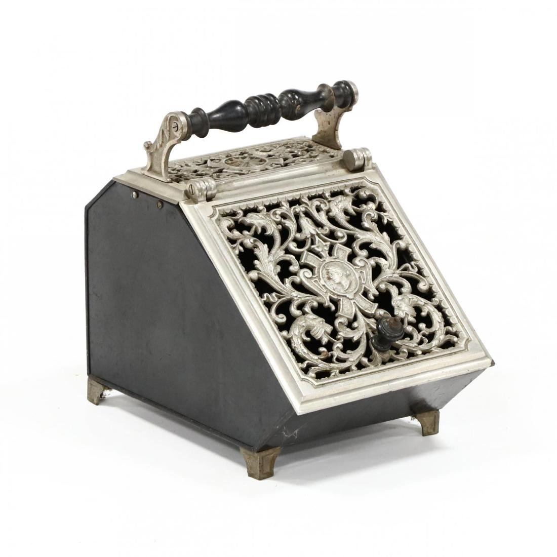 Renaissance Revival Coal Scuttle
