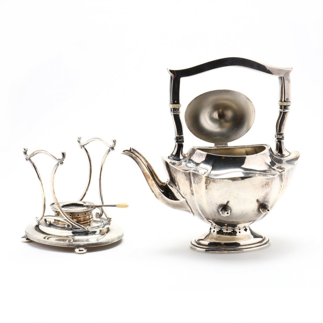 "A Gorham ""Plymouth"" Sterling Silver Tea & Coffee Servic - 3"