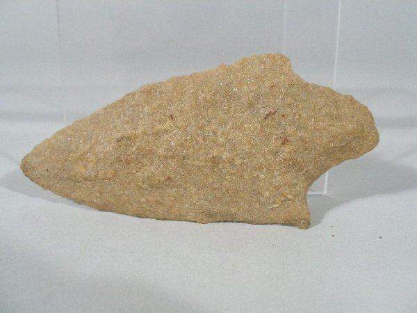 8: Quartzite Morrow Mountain Projectile Point,