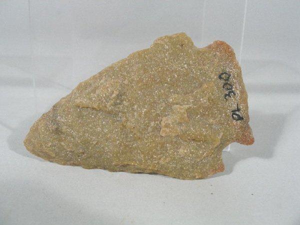 11: Quartzite Snyder Projectile Point,
