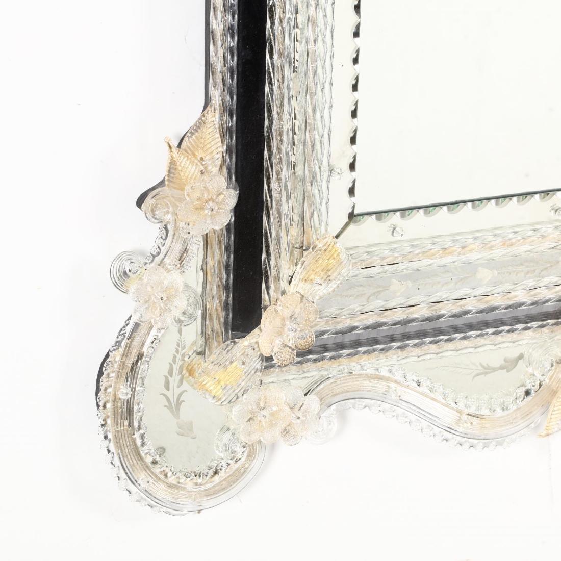 Venetian Engraved Mirror - 2