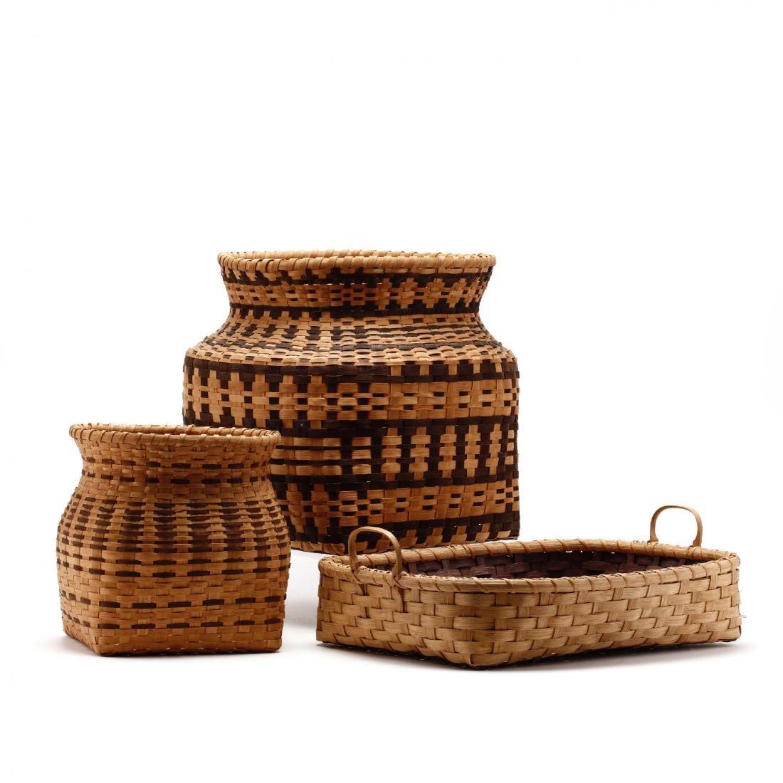 Three Native American Baskets - 2