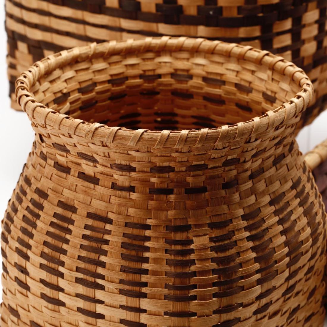 Three Native American Baskets - 4