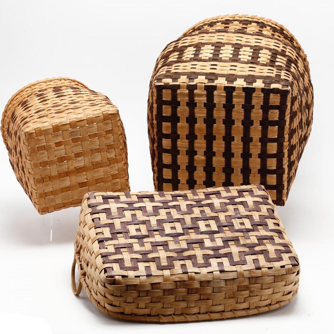 Three Native American Baskets - 6