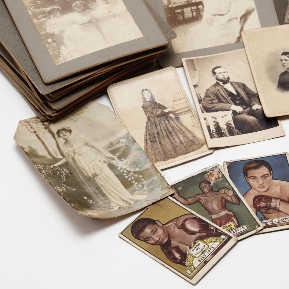 Grouping of Over 100 Antique Photographs - 2