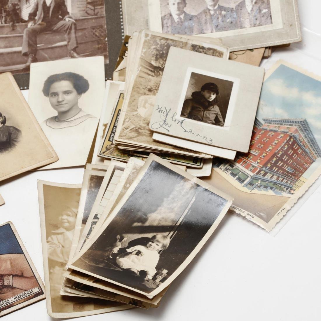 Grouping of Over 100 Antique Photographs - 3