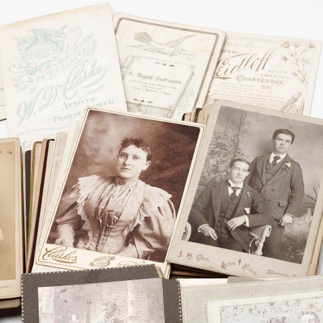 Grouping of Over 100 Antique Photographs - 4