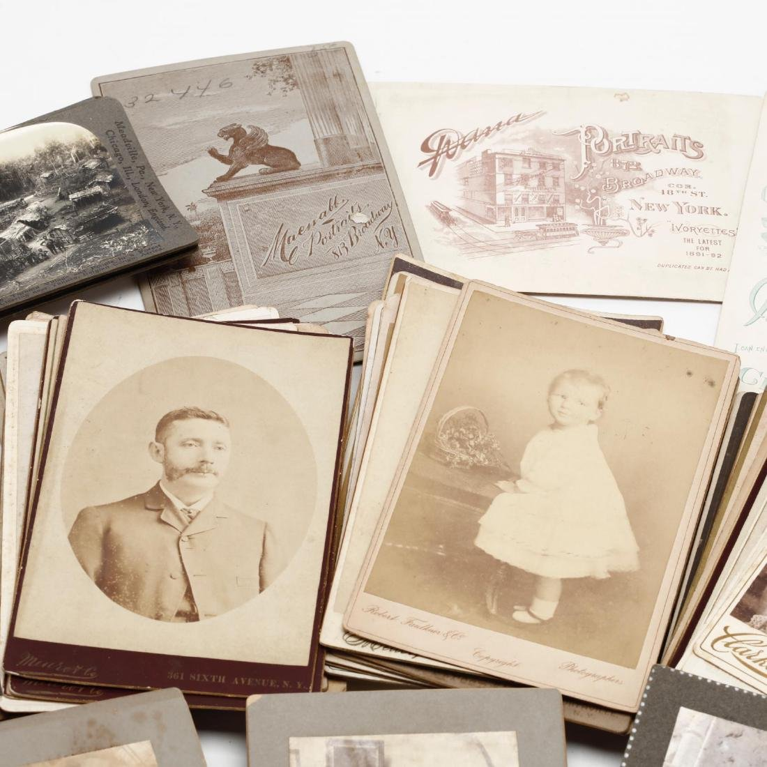 Grouping of Over 100 Antique Photographs - 5