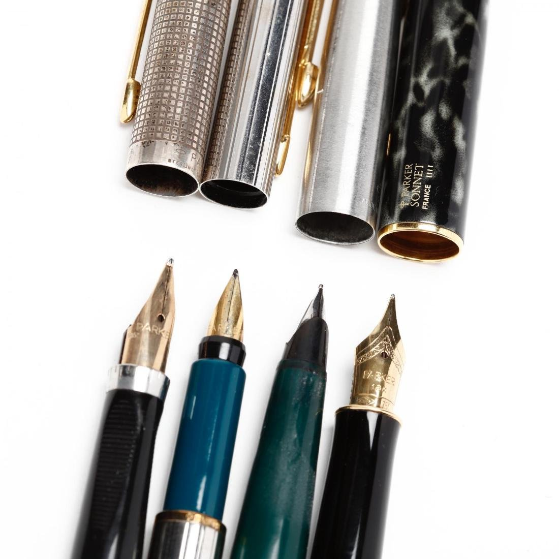 Ten Parker Writing Implements With Accessories - 5