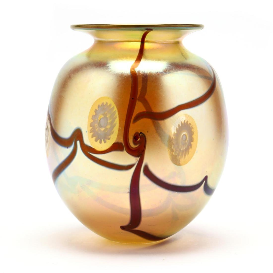 Eickholt Art Glass Vase