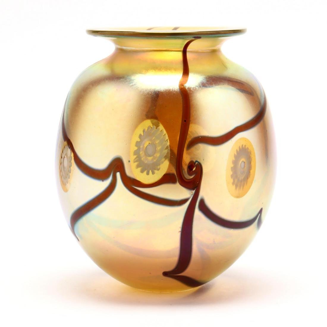 Eickholt Art Glass Vase - 4