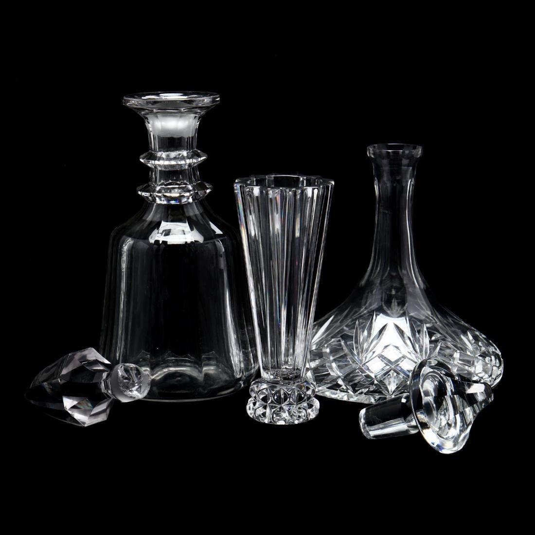 Six Crystal Tablewares - 3