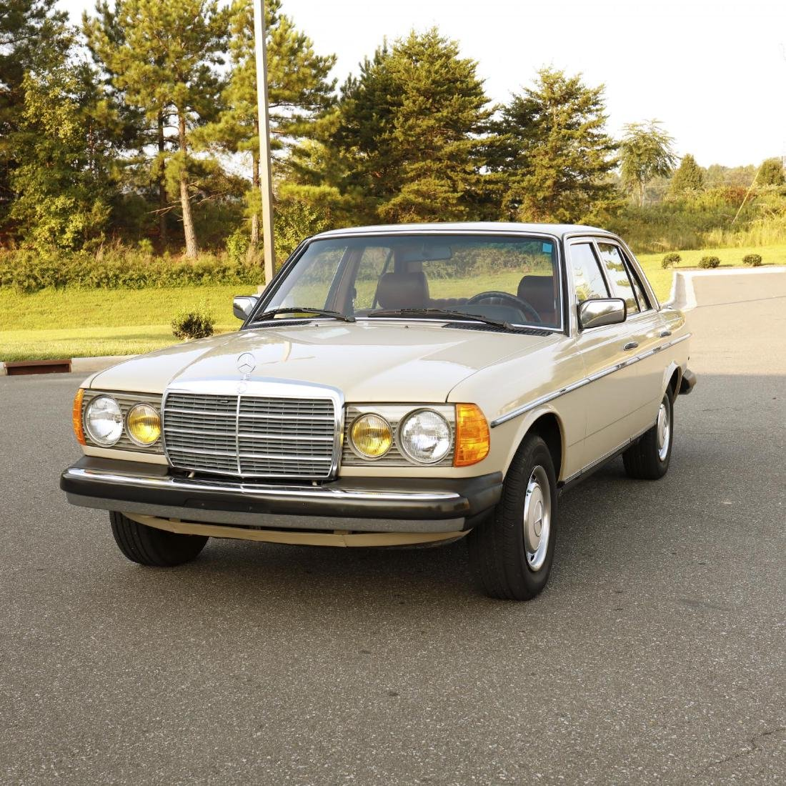 One-Owner 1981 Mercedes Benz 240D - 2