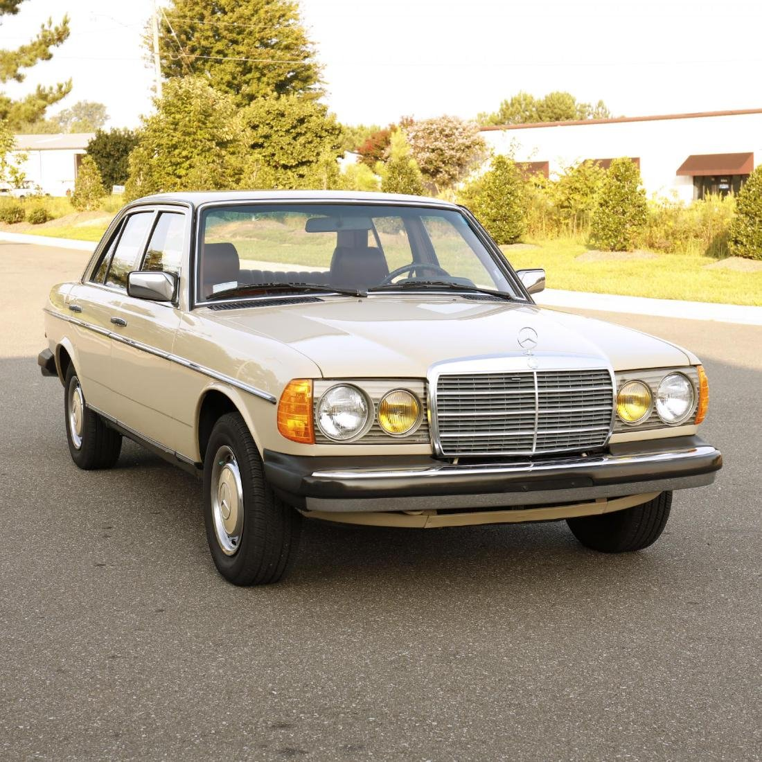 One-Owner 1981 Mercedes Benz 240D - 4