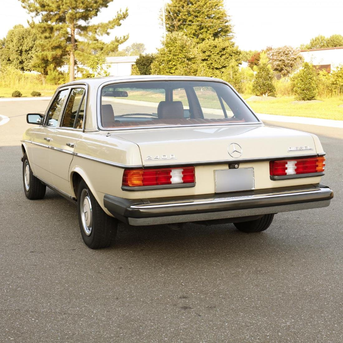 One-Owner 1981 Mercedes Benz 240D - 7