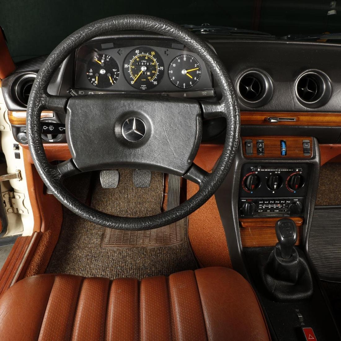 One-Owner 1981 Mercedes Benz 240D - 8