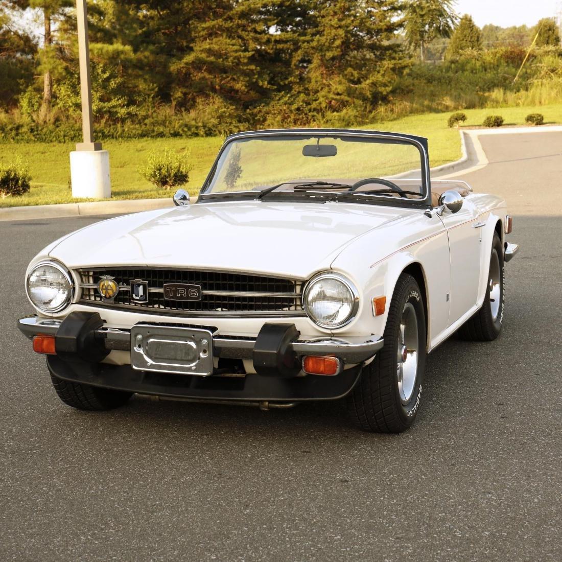 1976 Triumph TR6 Convertible - 2