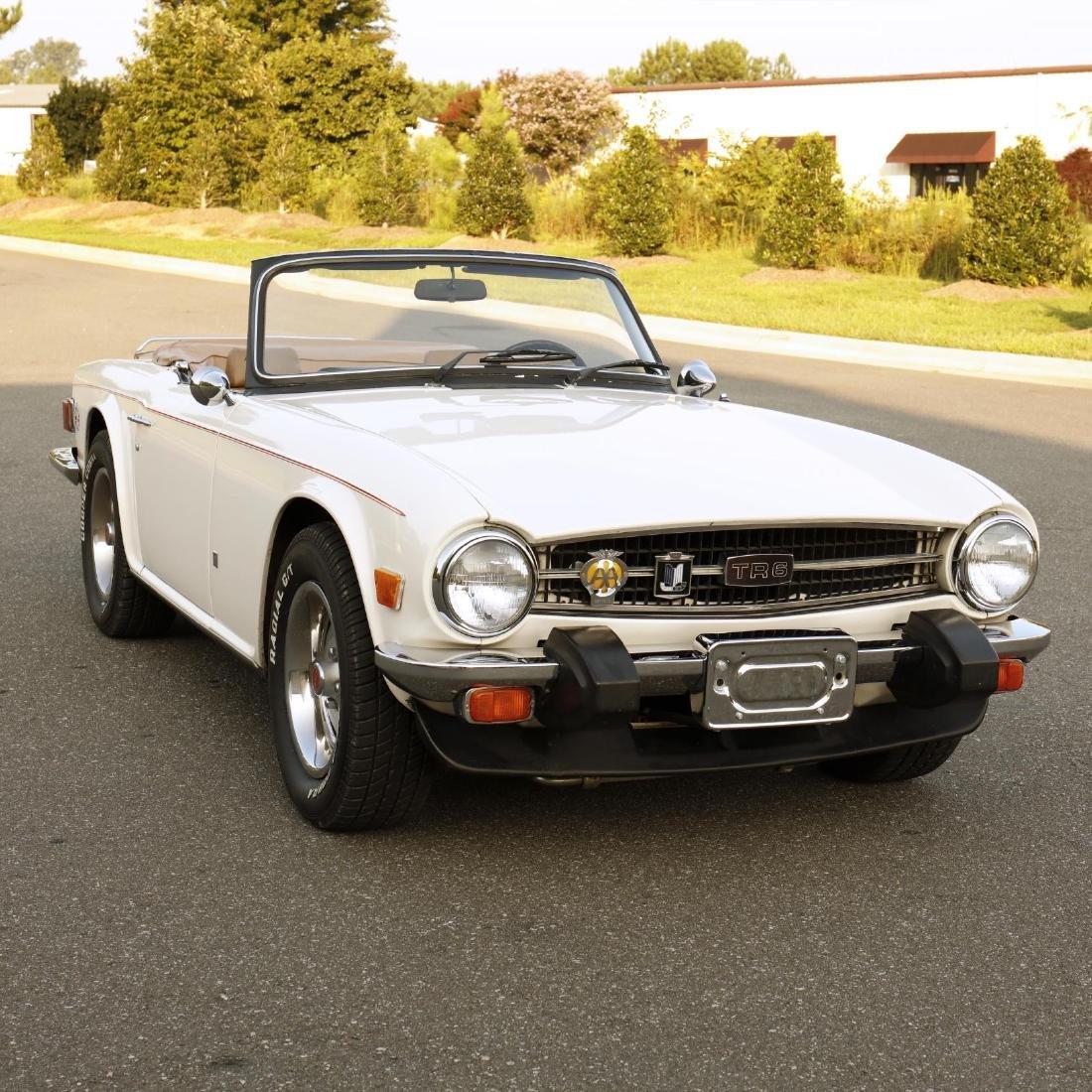 1976 Triumph TR6 Convertible - 4