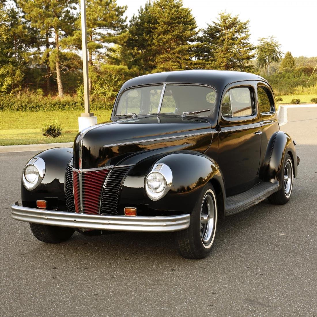 1940 Ford Deluxe Tudor Sedan - 2