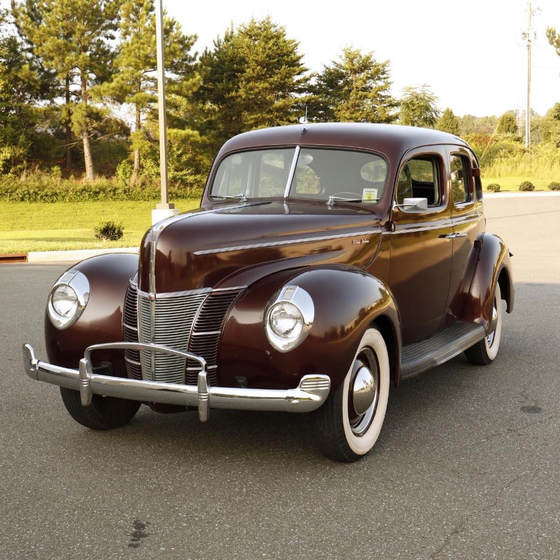 1940 Ford Deluxe Fordor Sedan - 2