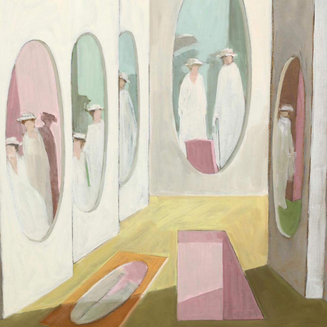 Hobson Pittman (NC/PA, 1899-1972),  Ladies, Mirrors - 2