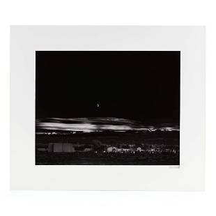 Ansel Adams (American, 1902-1984), Moonrise,