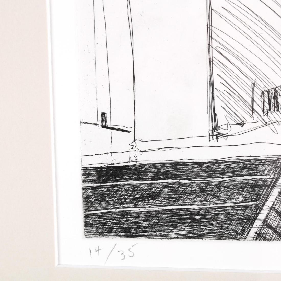 Wayne Thiebaud (American, born 1920),  Hotel Corner - 3