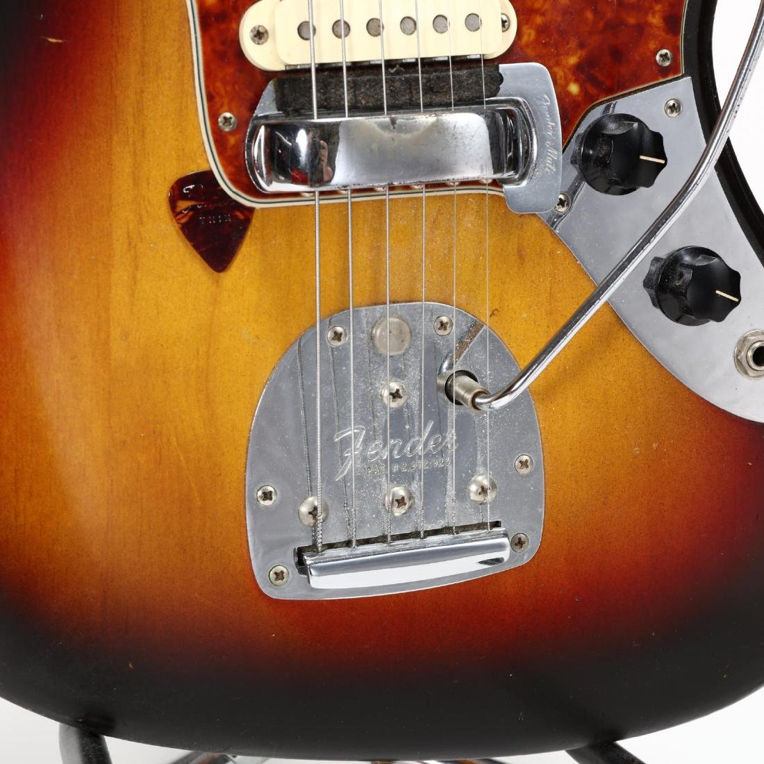 One-Owner 1962 Fender Jaguar Electric Guitar - 4