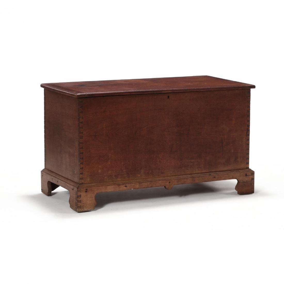 Southern Chippendale Walnut Blanket Chest