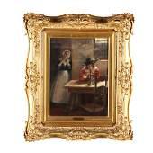 Henry Benjamin Wechsler NY b 1860 Dutch Interior