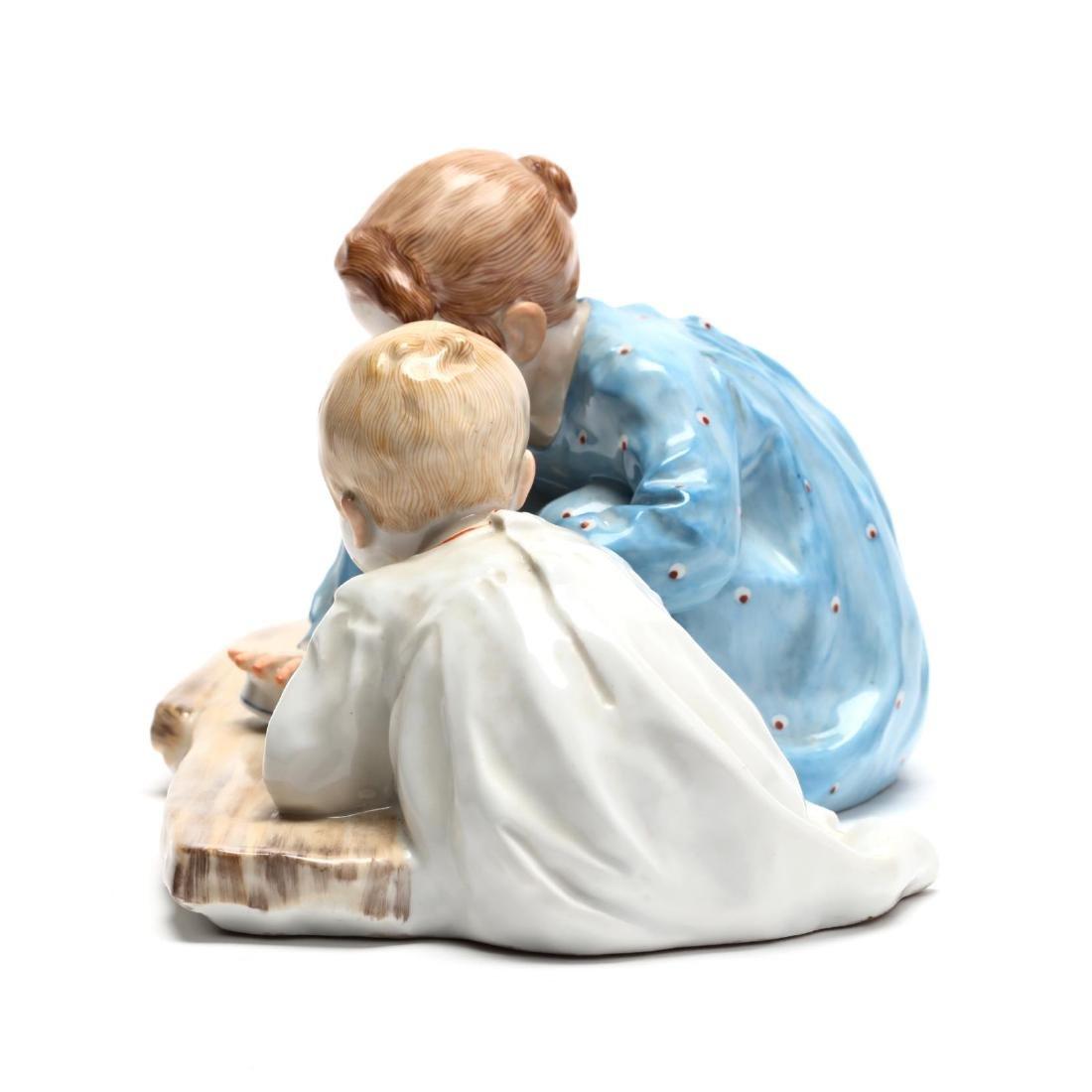 Meissen Hentschel Porcelain Figural Composition - 2
