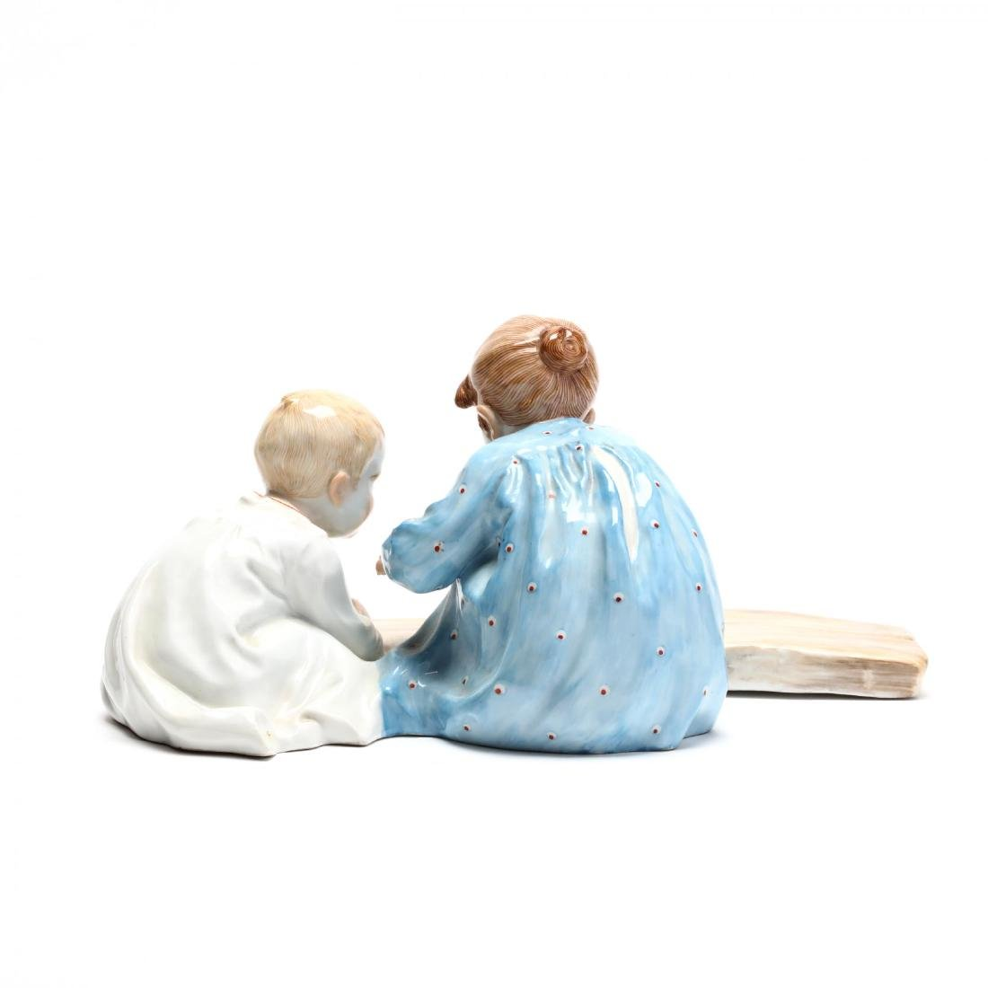 Meissen Hentschel Porcelain Figural Composition - 3