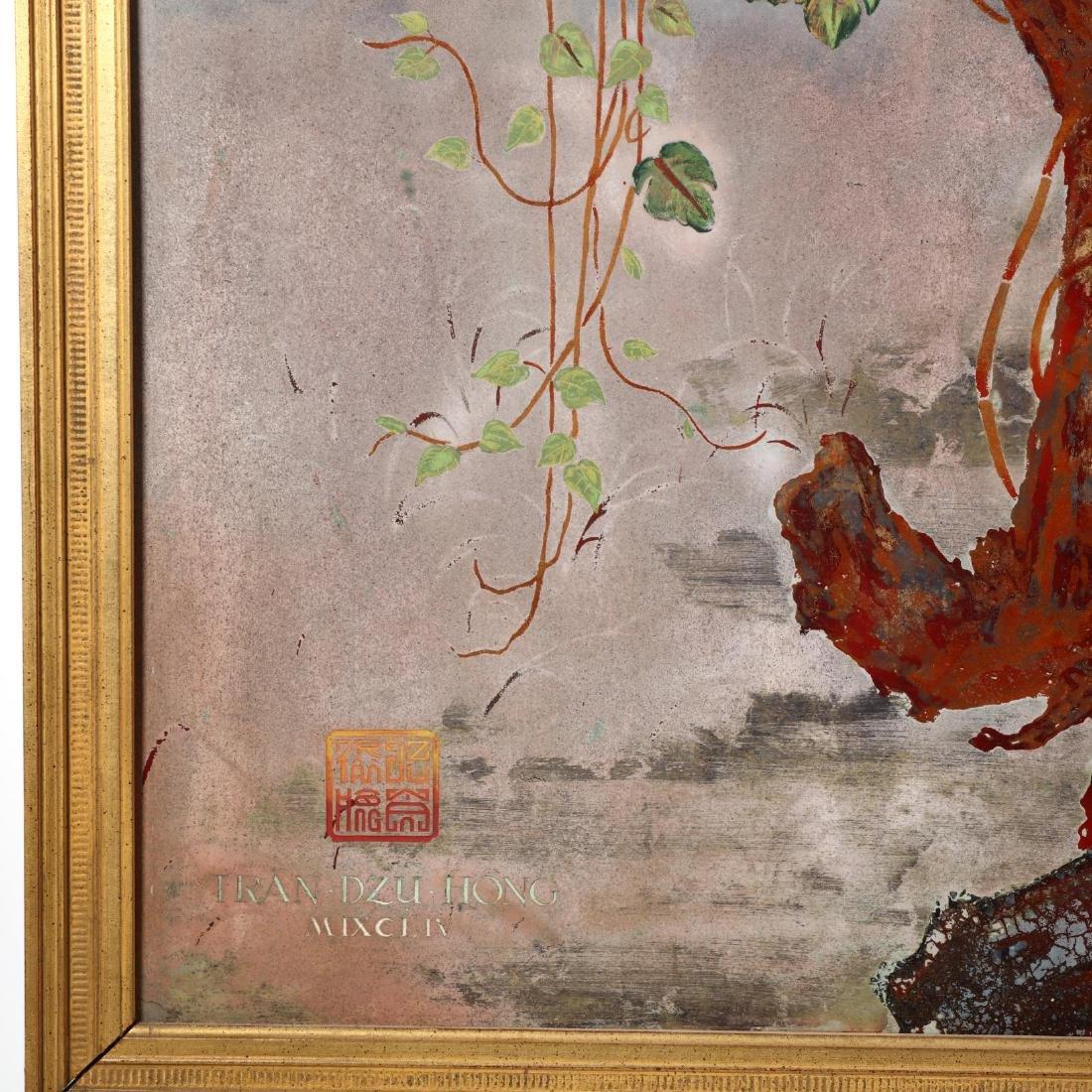 Tran Dzu Hong (Vietnamese, 1922-2002), A Painting of - 2