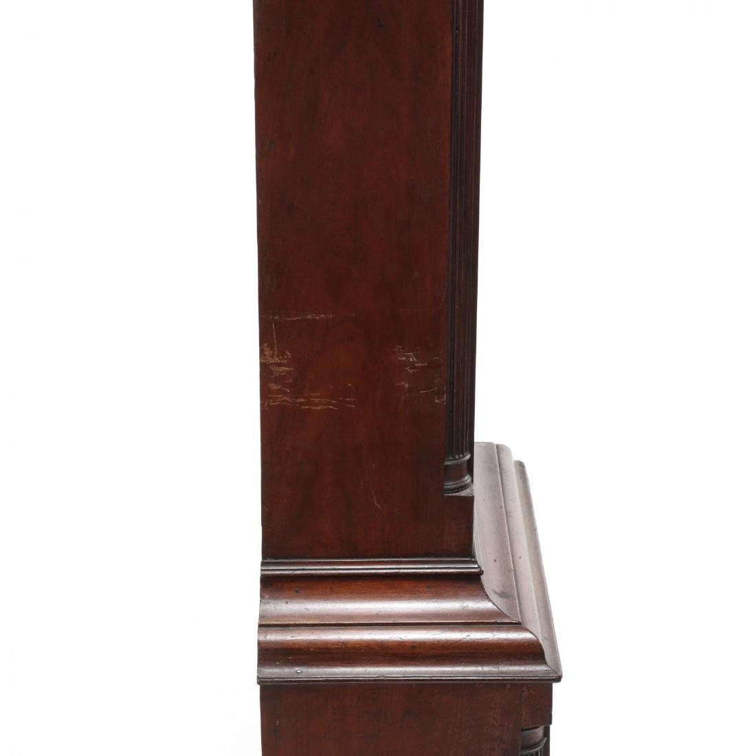 American Chippendale Mahogany Tall Case Clock - 8