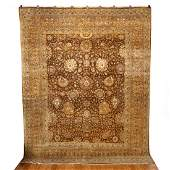 Indo Persian Room Size Carpet 8 ft x 10 ft