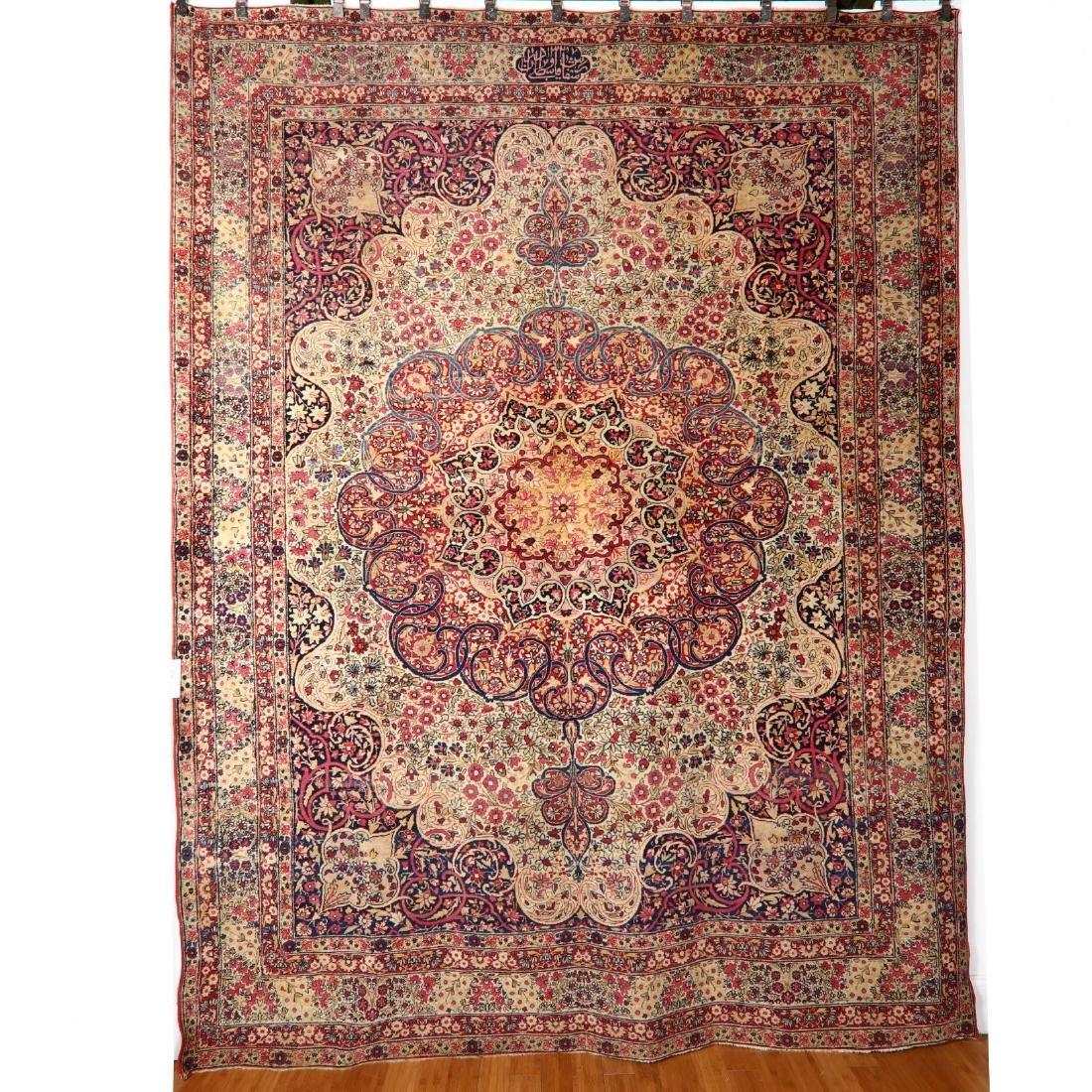 Lavar Kerman Carpet (8 ft. 7 in. x 11 ft. 3 in.)
