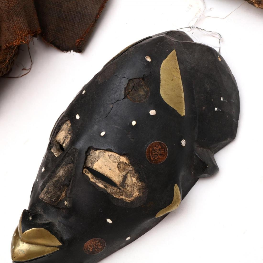 Five African Tribal Masks - 4