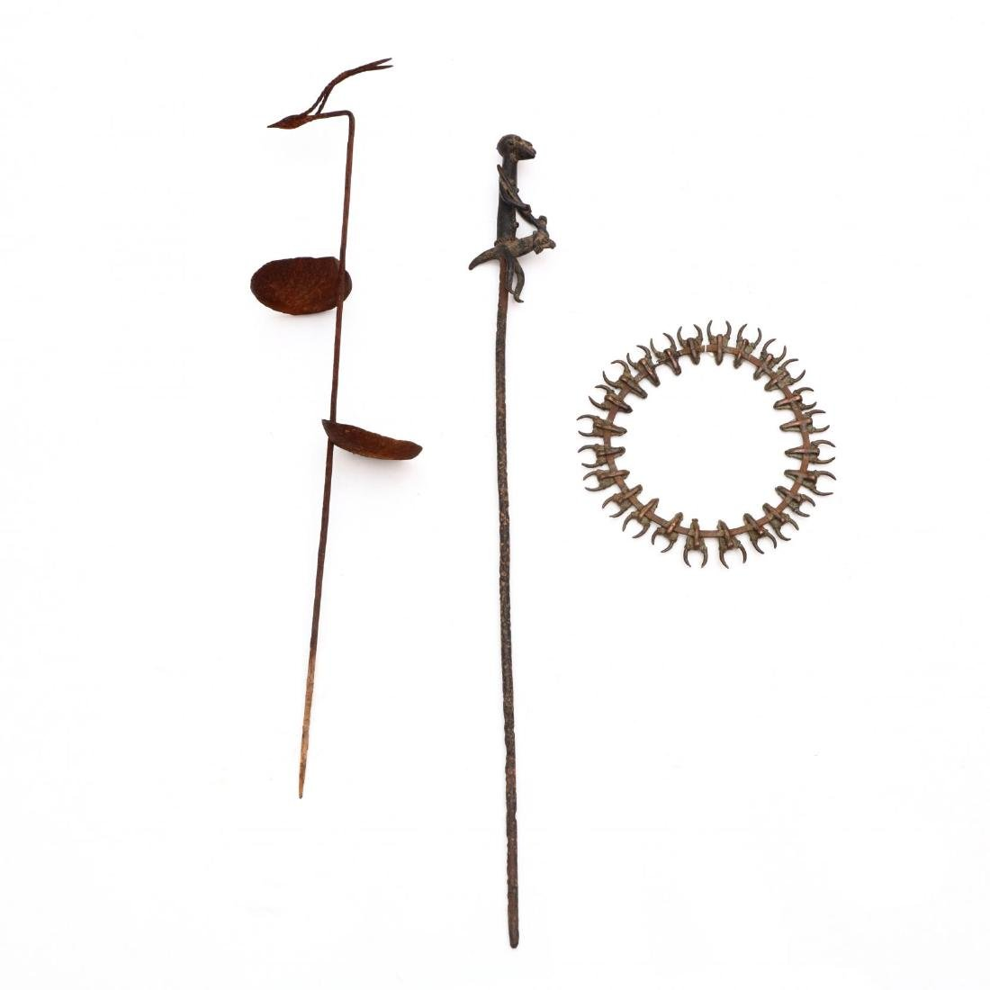 Three African Metal Objects - 5