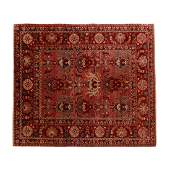 Indo Persian Carpet 9 ft 1 in x 8 ft 1 in