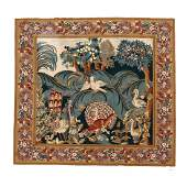 Needlepoint Tapestry (6 ft. 11 in. x 7 ft.)