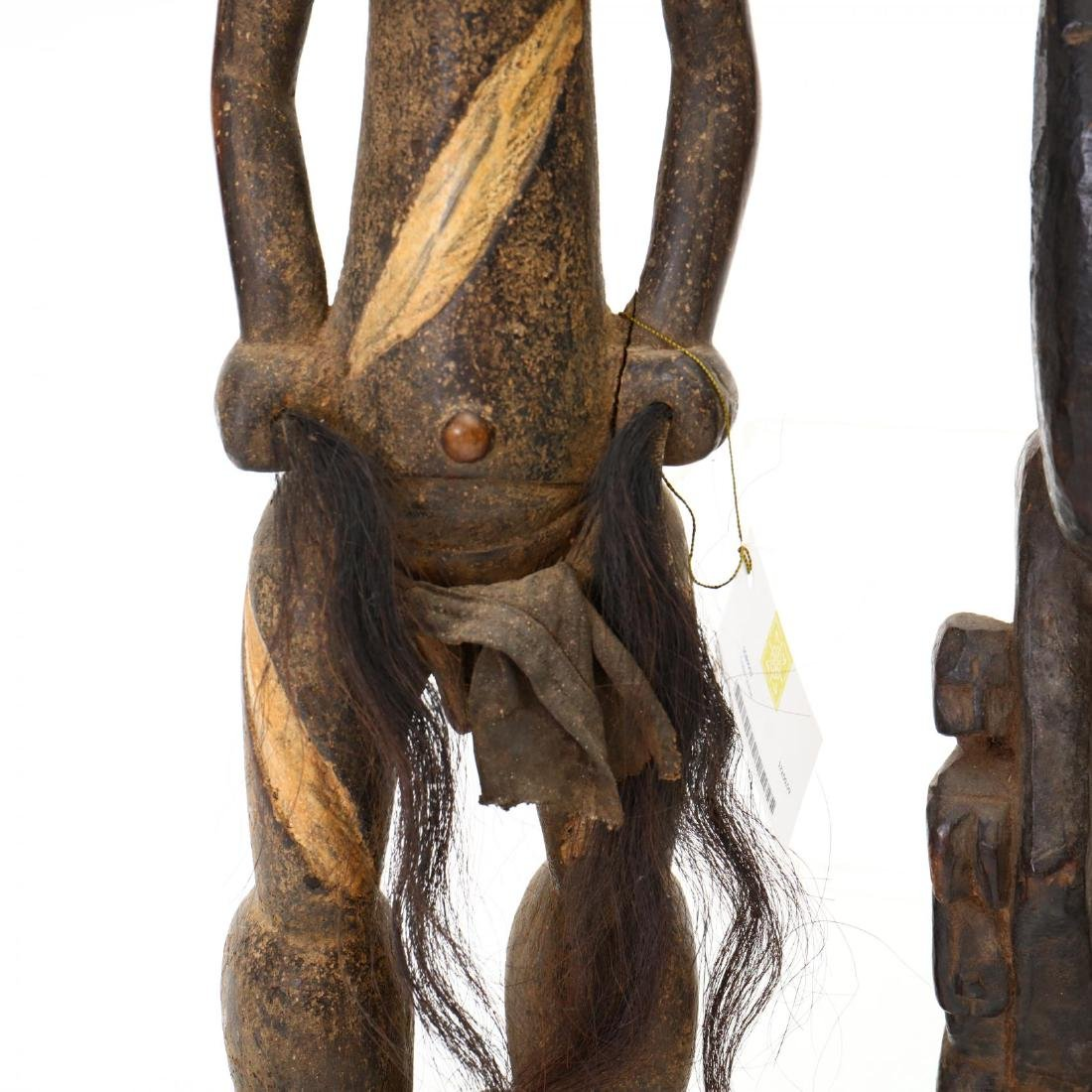 Four African Female Carved Tribal Statues - 2