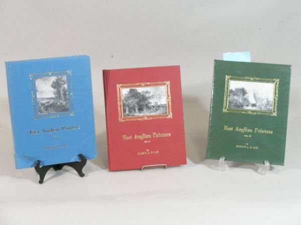 """1: Three Volumes, """"East Anglian Painters,"""" Harold Day"""